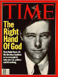 Ralph Reed, evangelical superstar and boy wonder, pictured on the May 15, 1995 cover of 'Time.'