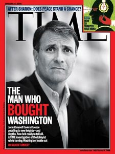 In 2006, when Reed appeared again on 'Time's' cover, it was as a lobbyist and influence-peddler.