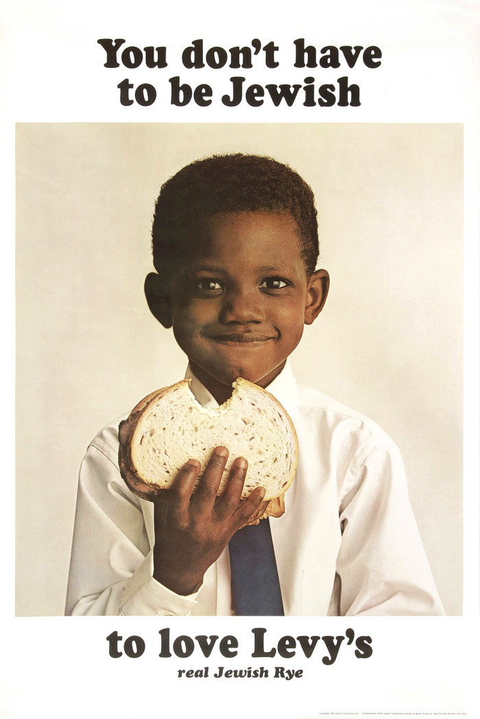 Levy's bakery used this ad campaign to extend its reach beyond its original market niche.