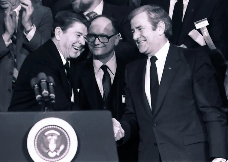 Jerry Falwell Senior, whose Moral Majority was a reliable ally for Republicans starting in the Reagan era, preached against abortion in the service of tax breaks for his racist school.