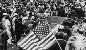 In 1970, New York construction workers attacked peaceful protesters, a preview of how Republicans have pitted working-class whites against their own interests.